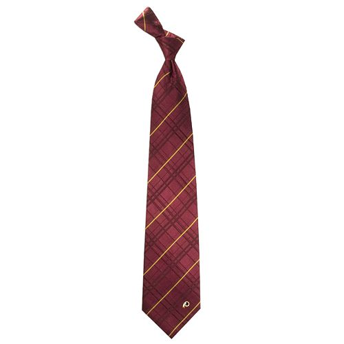 Adult Washington Redskins Oxford Silk Tie