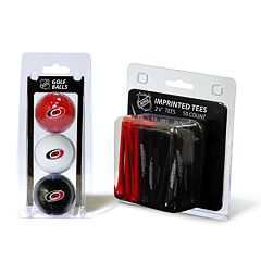 Team Golf Carolina Hurricanes Ball & Tee Set