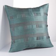 Simply Vera Vera Wang Abyss Plaid Decorative Pillow