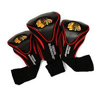 Team Golf Chicago Blackhawks 3 pc Contour Head Cover Set