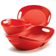 Rachael Ray 3-pc. Red Serveware Set