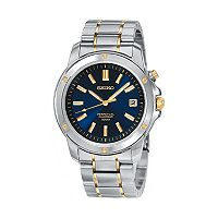 Seiko Men's Two Tone Stainless Steel Watch - SNQ010