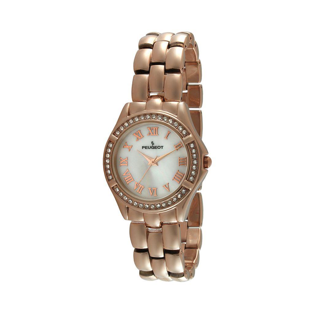 Peugeot Women's Crystal Watch - 7037RG
