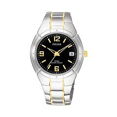Pulsar Men's Two Tone Stainless Steel Watch - PXH172