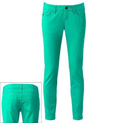 ELLE Color Skinny Jeans