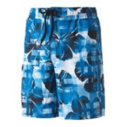 ZeroXposur Floral Hawaiian Swim Trunks