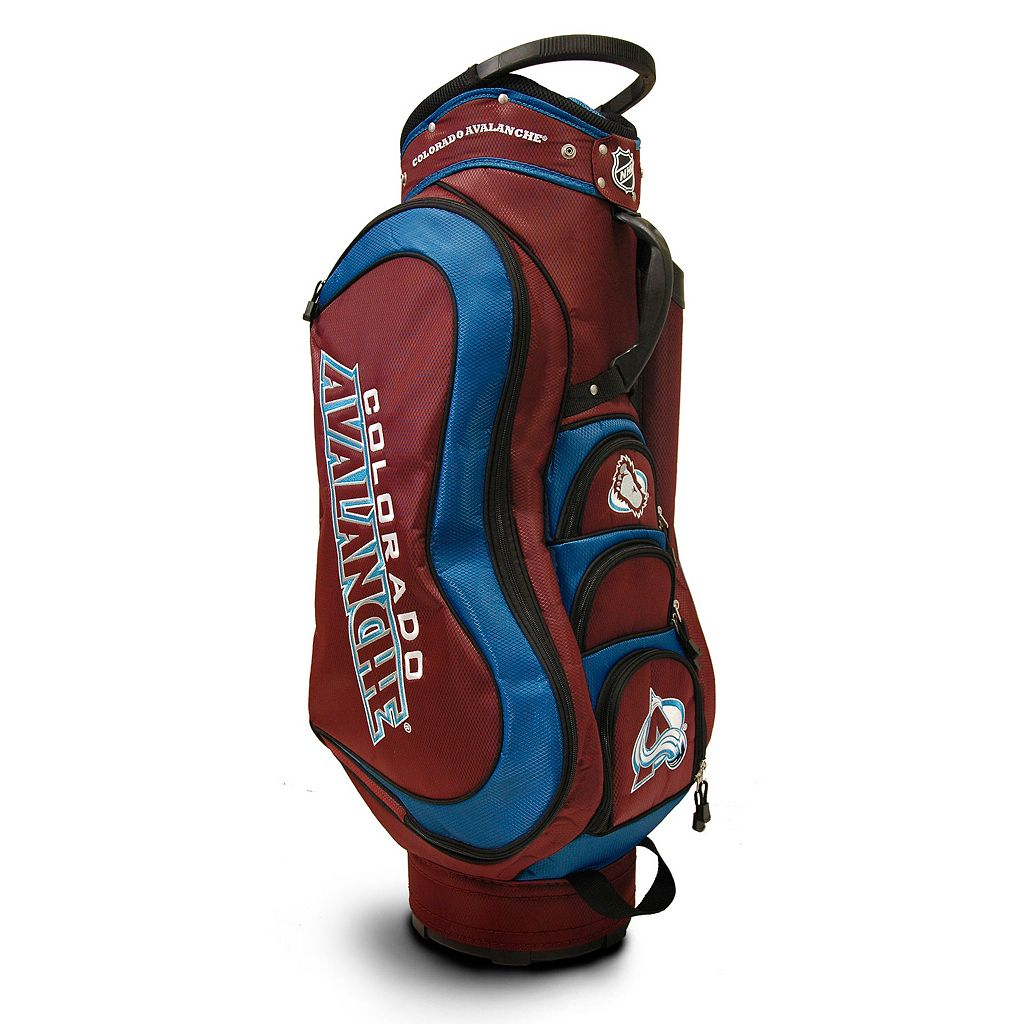 Team Golf Colorado Avalanche Medalist Cart Bag