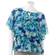 ELLE Floral Chiffon Top Set