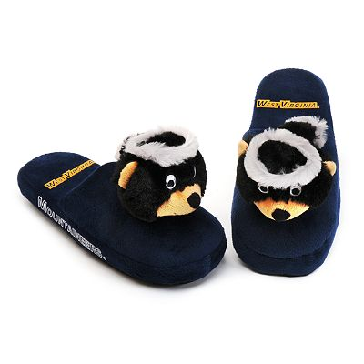 West Virginia Mountaineers Slippers - Youth