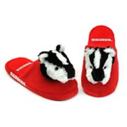 Wisconsin Badgers Slippers - Youth