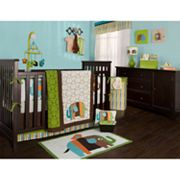 Zutano Elephants 4-pc. Crib Set
