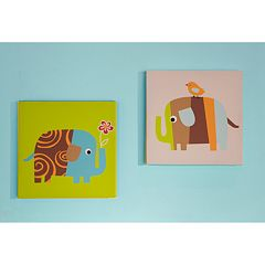 Zutano Elephants 2-pk. Wall Art