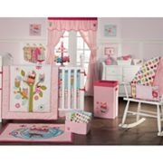 Zutano Owls 4-pc. Crib Set