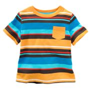 Jumping Beans Yarn-Dyed Striped Tee - Baby