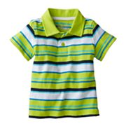 Jumping Beans Striped Polo - Baby