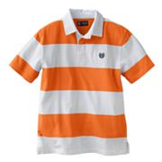Chaps Rugby-Striped Polo - Boys 8-20