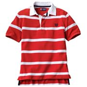 Chaps Striped Polo - Boys 8-20