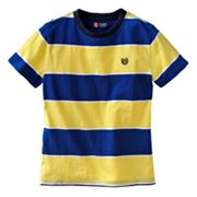 Chaps Slubbed Striped Tee - Boys 8-20