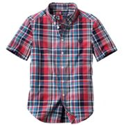 Chaps Plaid Button-Down Shirt - Boys 8-20