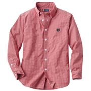 Chaps Gingham Button-Down Shirt - Boys 8-20