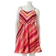 LC Lauren Conrad Striped Dress
