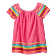 SONOMA life + style Striped Babydoll Top - Girls 4-7