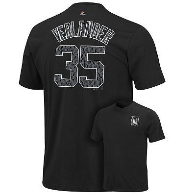 Majestic Detroit Tigers Justin Verlander Featured All Star Tee - Boys 8-20