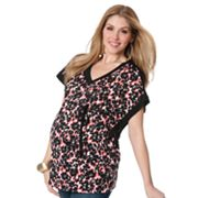 Oh Baby by Motherhood Floral Poncho Top - Maternity