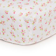 Carter's Easy-Fit Floral Crib Sheet
