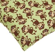 Carter's Fitted Monkey Quilted Play Yard Sheet
