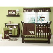 Carter's 4-pc. Elephant Crib Set - Green