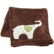 Carter's Elephant Fleece Blanket - Green