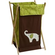 Carter's Elephant Hamper - Green