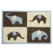 Carter's Elephant Rug - Blue