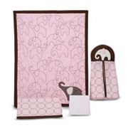 Carter's 4-pc. Elephant Crib Set - Pink