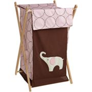 Carter's Elephant Hamper - Pink