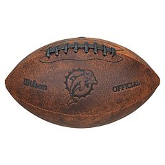 Wilson Miami Dolphins Throwback Youth-Sized Football