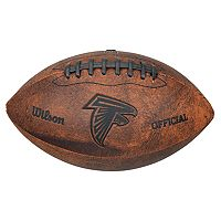 Wilson Atlanta Falcons Throwback Youth-Sized Football