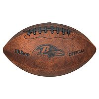 Wilson Baltimore Ravens Throwback Youth-Sized Football