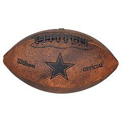Wilson Dallas Cowboys Throwback Youth-Sized Football