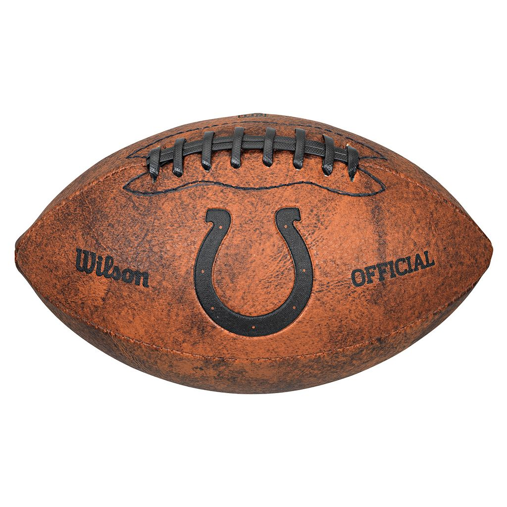 Wilson Indianapolis Colts Throwback Youth-Sized Football