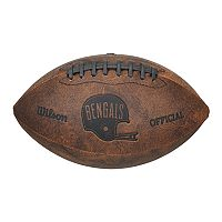 Wilson Cincinnati Bengals Throwback Youth-Sized Football