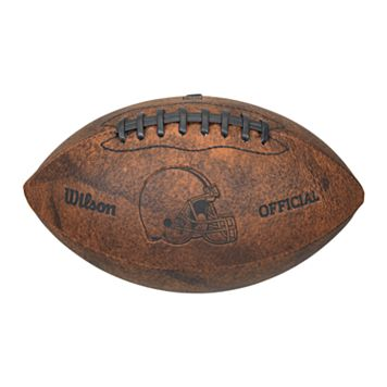 Wilson Cleveland Browns Throwback Youth-Sized Football