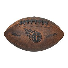 Wilson Tennessee Titans Throwback Youth-Sized Football