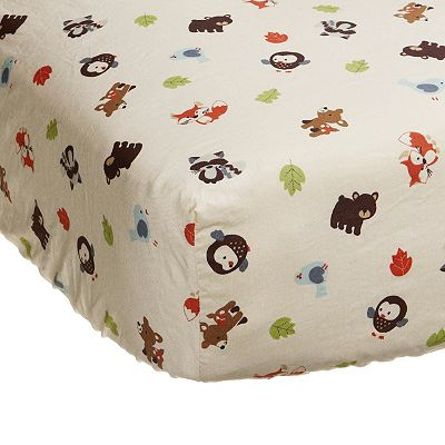 Carter's Forest Friends Crib Sheet