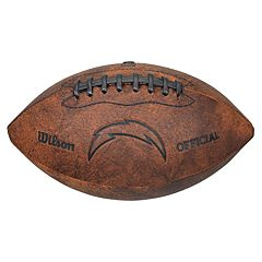 Wilson San Diego Chargers Throwback Youth-Sized Football