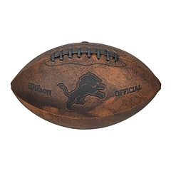 Wilson Detroit Lions Throwback Youth-Sized Football