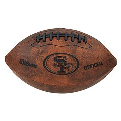 Wilson San Francisco 49ers Throwback Youth-Sized Football