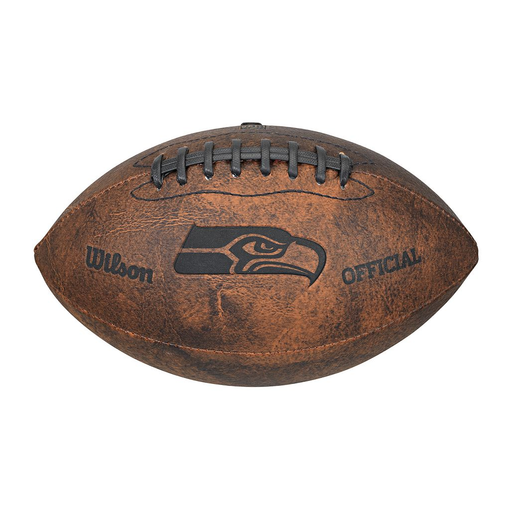 Wilson Seattle Seahawks Throwback Youth-Sized Football