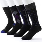 Men's Croft & Barrow® 4 pkDress Socks